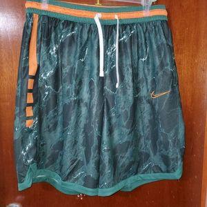 Nike Air Dri-Fit Elite Green Marble shorts